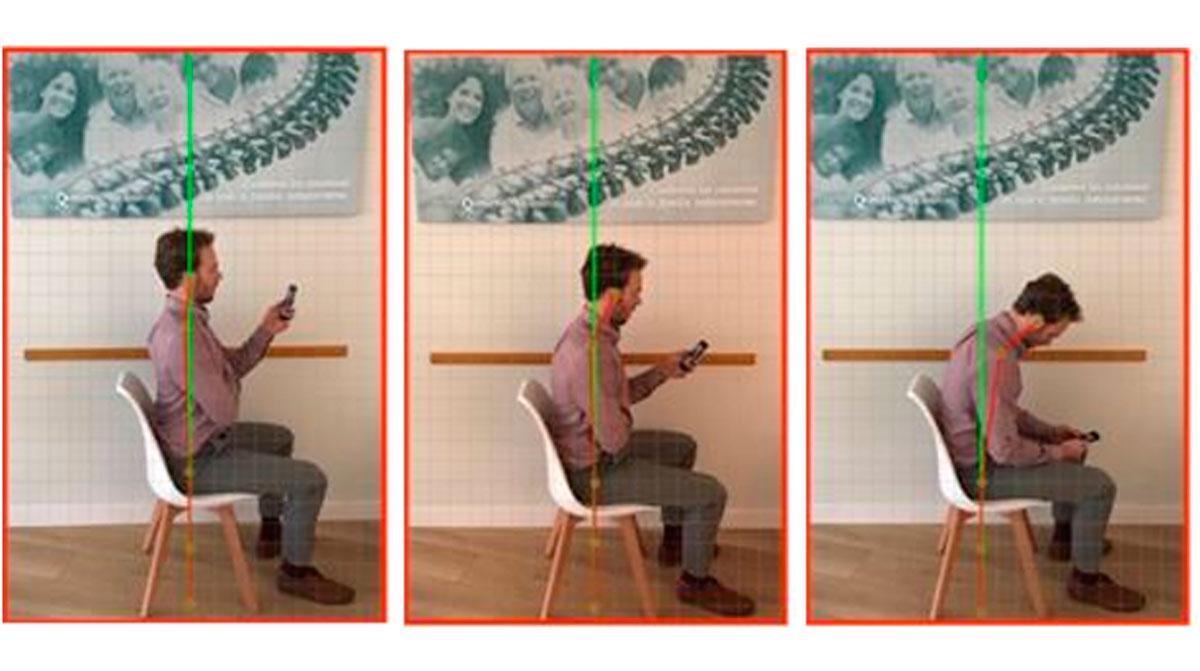 Consejos útiles para corregir tu postura mientras usas el móvil