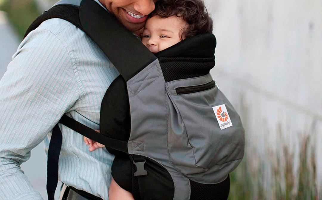 3 reglas básicas para llevar a tu bebé en la posición correcta en un portabebés