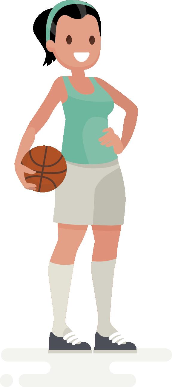 La quiropráctica en jugadores y jugadoras de baloncesto