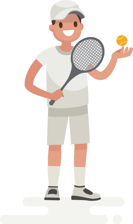 La quiropráctica en jugadores y jugadoras de tenis